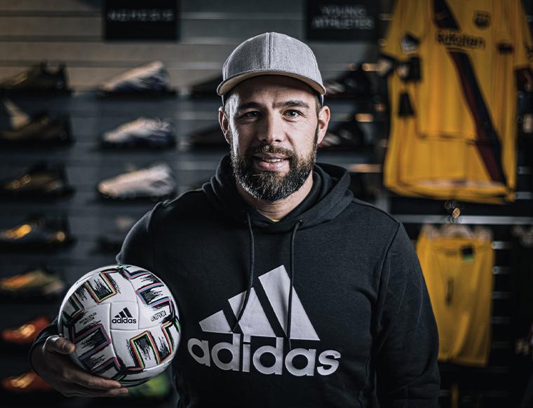 Ballsportdirekt Franken Sportkleidung Würzburg Rene Kreisel